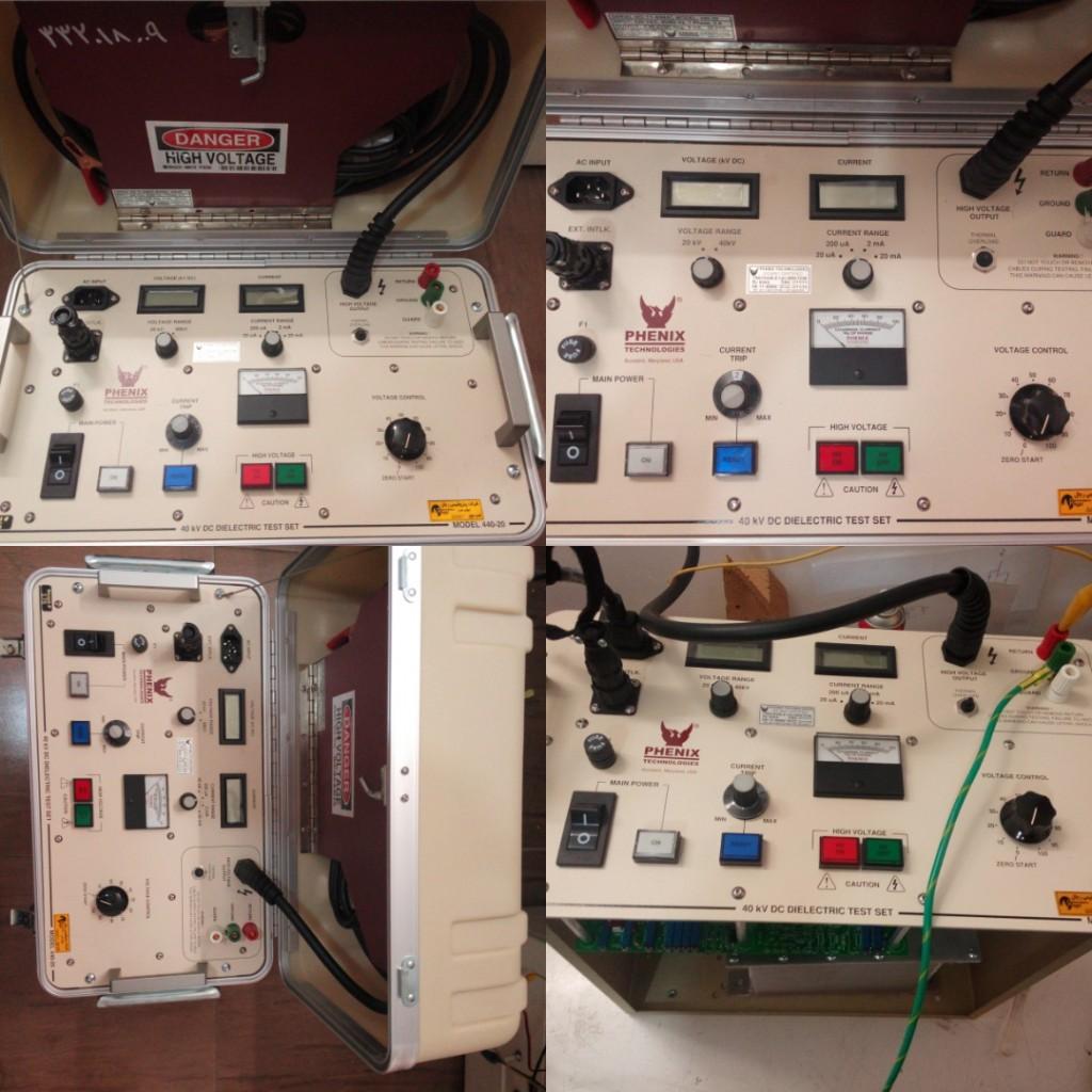 تعمیر دستگاه HIPOT ساخت PHENIX آمریکا